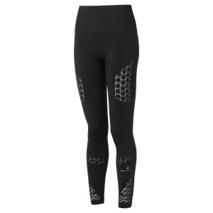 Ronhill Momentum Seamless Womens Running Tights - Black