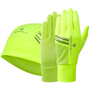 Ronhill Running Beanie and Glove Set