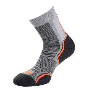 1000 Mile Trail Mens Sports Socks - Twin Pack