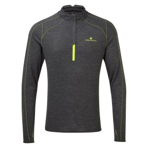 Ronhill Tech 1/2 Zip Mens Thermal Long Sleeve Running T-Shirt