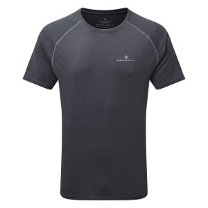 Ronhill Core Mens Short Sleeve Running T-Shirt - Charcoal Marl