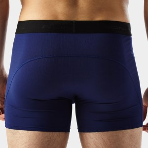 Ronhill 4.5 Inch Mens Boxer Short - Midnight Blue/Electric Blue