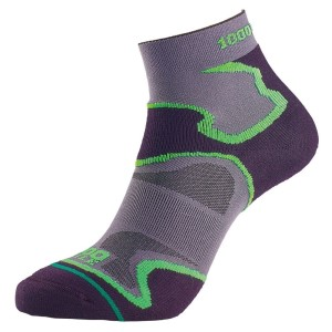 1000 Mile Fusion Anklet Womens Sports Socks - Double Layer, Anti Blister