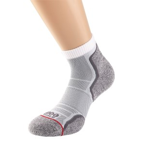1000 Mile Run Anklet Womens Sports Socks - Twin Pack