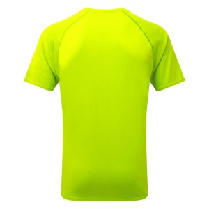 Ronhill Core Mens Short Sleeve Running T-Shirt - Fluo Yellow