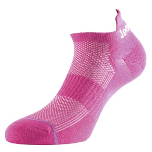 1000 Mile Ultimate Tactel Trainer Womens Sports Socks - Double Layer, Anti Blister